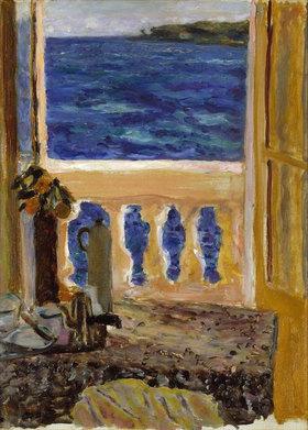 Pierre Bonnard: Zum Meer geöffnetes Fenster