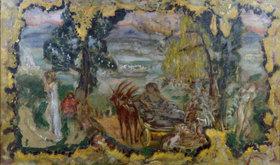 Pierre Bonnard: Paysage animee des baigneuses