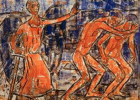 Christian Rohlfs: Austreibung aus dem Paradies