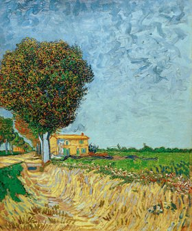 Vincent van Gogh: Avenue near Arles