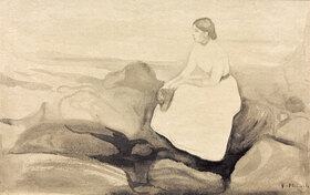 Edvard Munch: Inger am Strand