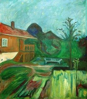 Edvard Munch: Sommernacht, Aasgaardstrand