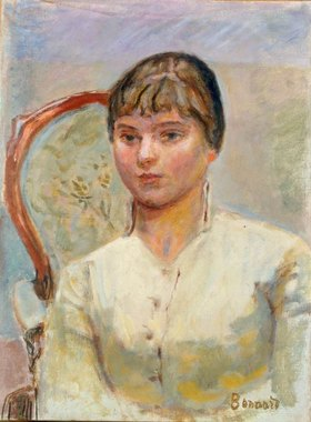 Pierre Bonnard: Junge Frau im Sessel