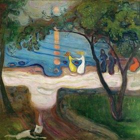 Edvard Munch: Der Tanz am Ufer