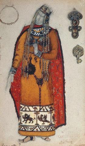 Nikolai Konstantinow Roerich: Wagner, Isolde / Figurine