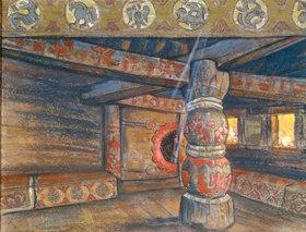 Nikolai Konstantinow Roerich: Zimmer der Jaroslawna