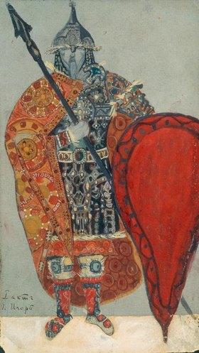 Nikolai Konstantinow Roerich: Borodin, Alexander; russ. Komponist als Fürst Igor