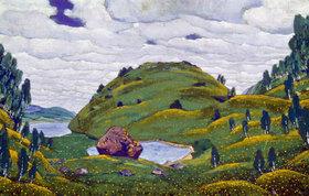 Nikolai Konstantinow Roerich: Strawinsky, Le Sacre du Printemps, Bühnenbildentwurf