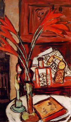 Max Beckmann: Stilleben mit grüner Kerze