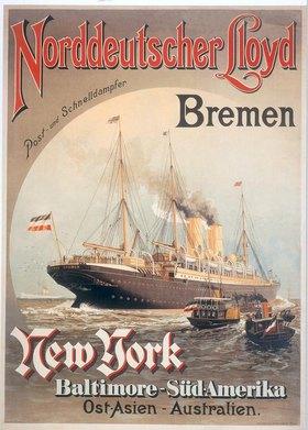 Norddeutscher Lloyd Bremen – Postund Schnelldampfer