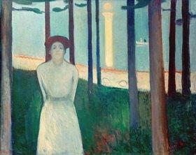Edvard Munch: Die Stimme (Sommernacht)