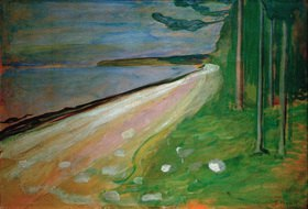 Edvard Munch: Strand bei Asgardstrand