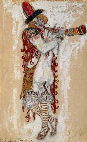 Nikolai Konstantinow Roerich: Strawinsky, Le Sacre du Printemps,Figurine