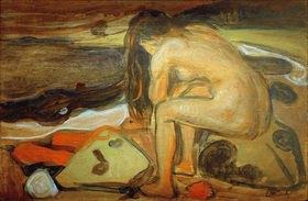 Edvard Munch: Weiblicher Akt am Strand