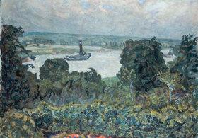 Pierre Bonnard: Schlepper auf der Seine