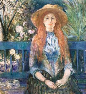 Berthe Morisot: Mädchen in einem Park