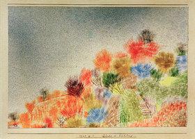 Paul Klee: Büsche im Frühling