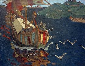 Nikolai Konstantinow Roerich: Fremde Kaufleute