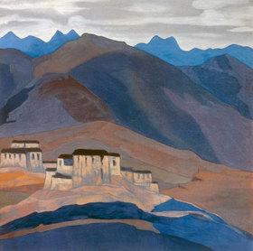 Nikolai Konstantinow Roerich: Tibetanisches Kloster
