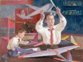 Boris Jeremejewitsch Wladimirski: Junge Aerodynamiker-Pioniere