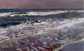 Joaquin Sorolla: Morgenstimmung am Meer bei Valencia