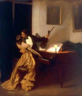 René François Xavier Prinet: Kreutzersonate, Gemälde
