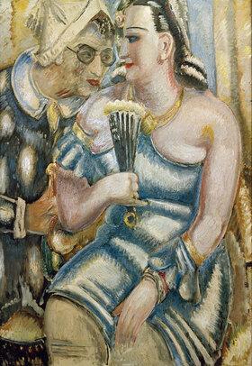 Paul Kleinschmidt: Der Maler und seine Frau im Faschingskostüm