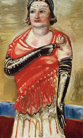 Paul Kleinschmidt: Standing Woman (Margarete Kleinschmidt)