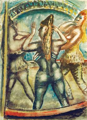 Paul Kleinschmidt: Drei Frauen in der Manege