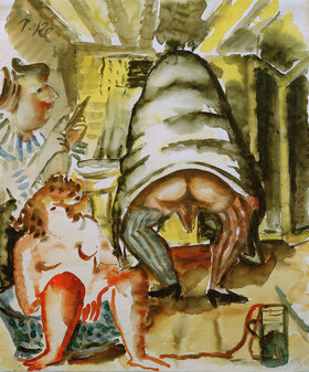 Paul Kleinschmidt: Frauenbad