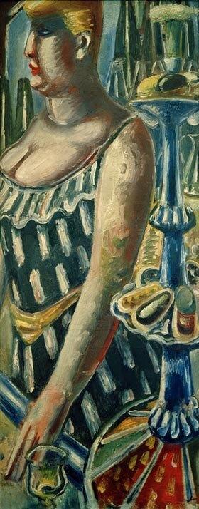 Paul Kleinschmidt: Barmaid Sybille