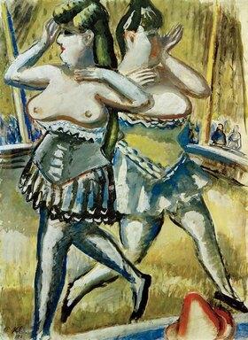 Paul Kleinschmidt: Zwei Zirkustänzerinnen