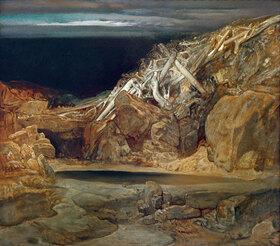 Rudolf Jettmar: Tote Landschaft (Baumleichen)