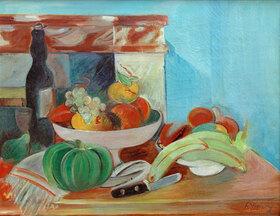 Rudolf Levy: Stilleben mit Früchten