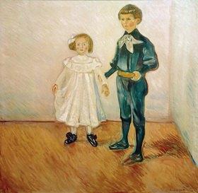 Edvard Munch: Die Esche - Kinder