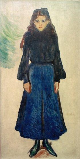 Edvard Munch: Das traurige Mädchen