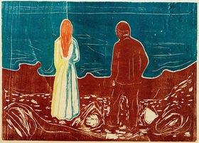 Edvard Munch: Zwei Menschen