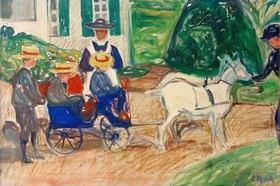 Edvard Munch: Der Ziegenwagen
