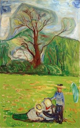 Edvard Munch: Frühlingslandschaft