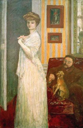 Pierre Bonnard: Misia Godebska mit Ehemann Thadee Natanson