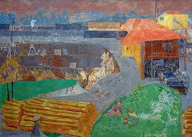 Pierre Bonnard: Braunkohlegrube