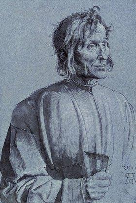 Albrecht Dürer: Portrait of an Architect' (so-called Hieronymus of Augsburg)