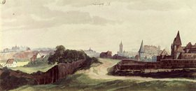 Albrecht Dürer: View of the town of Nuremberg from the west