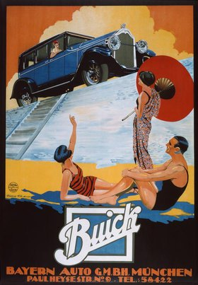 Buick-Automobil / Plakat