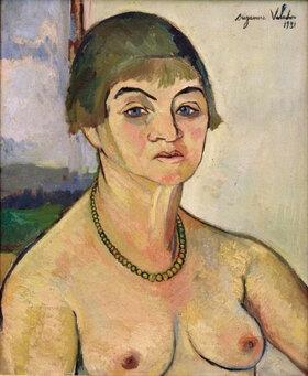 Suzanne Valadon: Selbstporträt mit nackten Brüsten