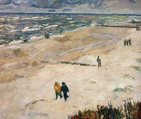 Max Beckmann: Leute nach der Arbeit am Meer (Am Strand von Wangerooge)