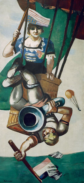 Max Beckmann: Luftakrobaten