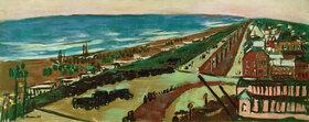 Max Beckmann: Blick auf Zandvoort bei Abend