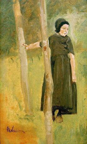 Max Liebermann: Kind unter Bäumen