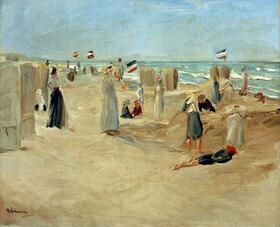 Max Liebermann: Am Strand von Noordwijk